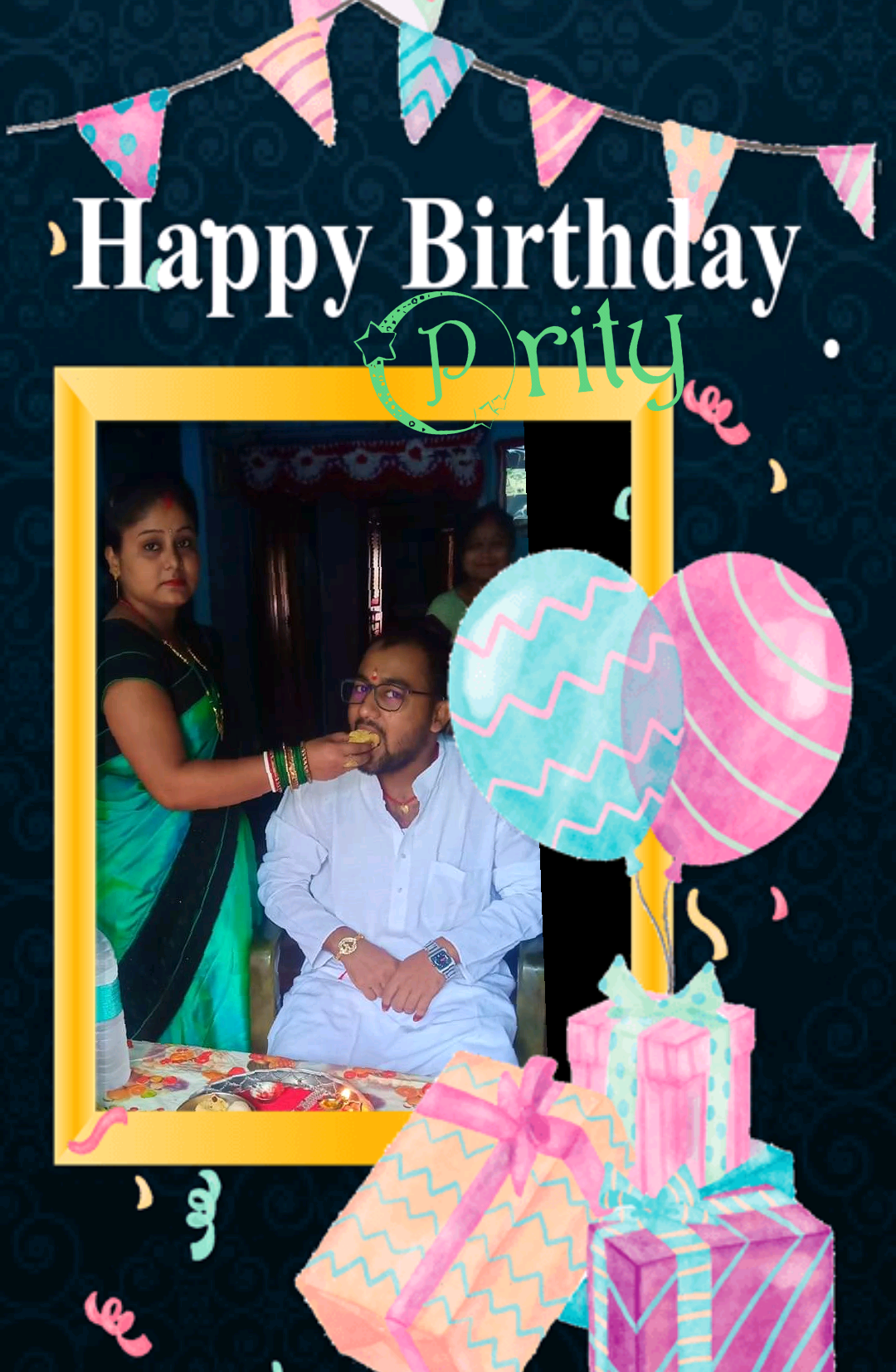 Happy birthday to you ........... Sister
