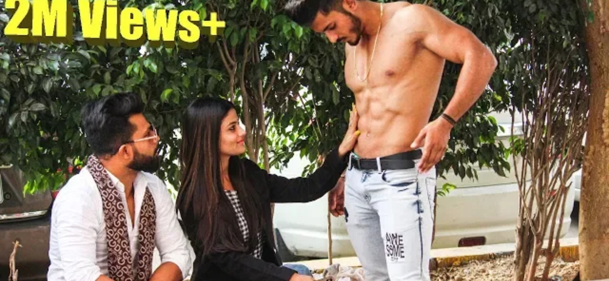 Girl's insulting sam khan with twist | suhail khan prank video