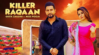 Killer Raqaan | Geeta Zalidar .| Miss pooja .| Sardar films .| Latest Punjabi song