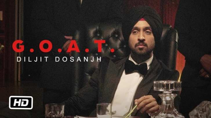 DILJIT DOSANJH - G.O.A.T. ( Official music video )
