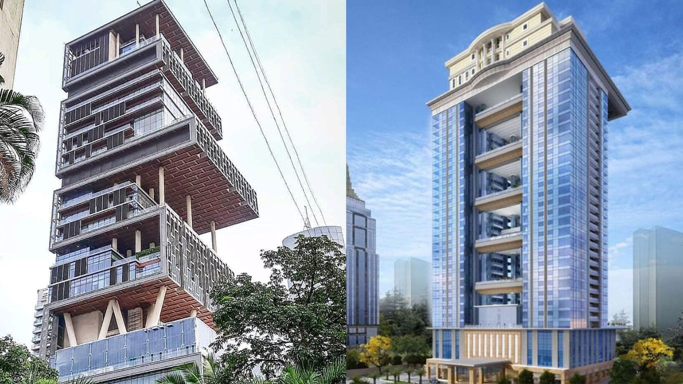 5 most expensive  house in india