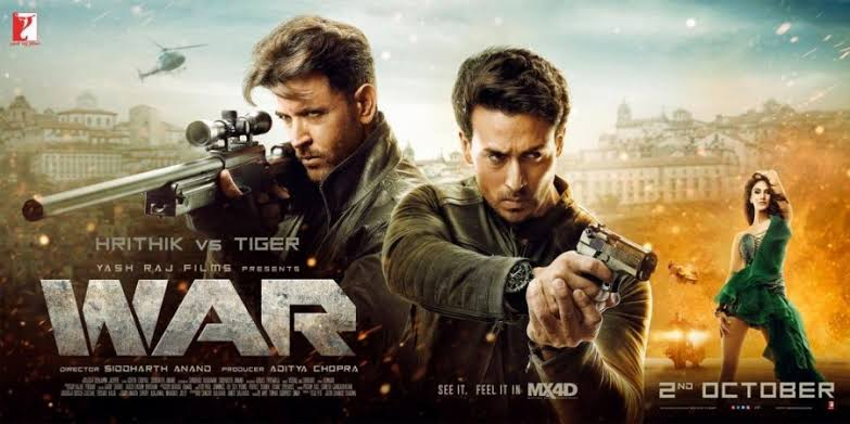 War movie by tiger Shroff and Ritik rhusan