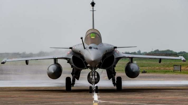 Day after Rafales land in india