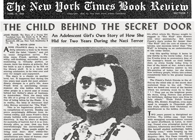 The Diary Of A Young Girl ( Part 3 ) ( Anne Frank)