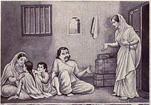 Life Of Kunti With Her Children