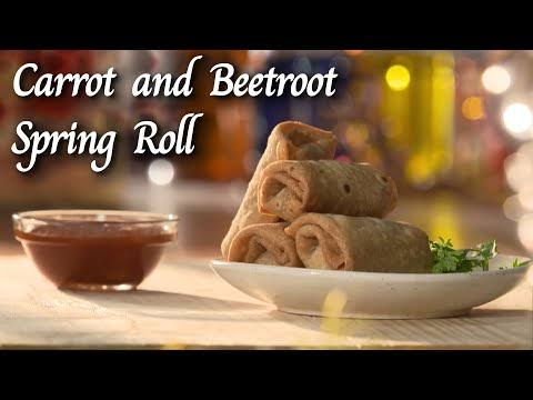 Carrot And Beetroot Roll