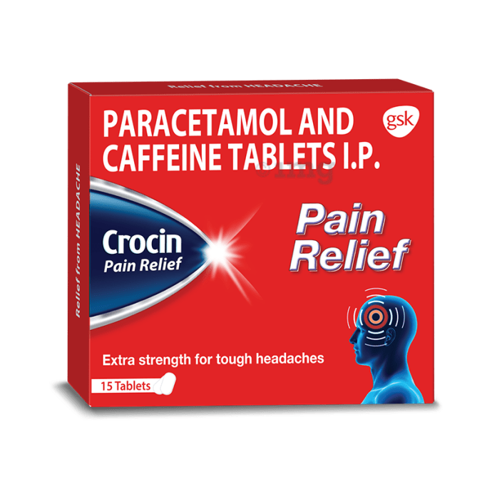 Crocin  pain relief