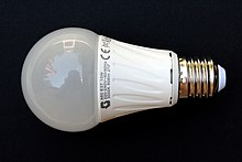 Led bulb of electronic