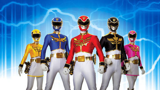 Power rangers mega force