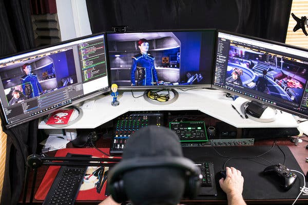 Video game live streaming